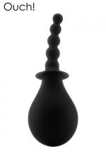 Poire anale 260 ml - Ouch! : Poire à lavement anal 100% silicone de la marque Ouh! Garantit une hygiène irréprochable avant la pratique du sexe anal.