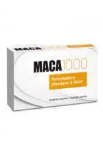 Maca 1000 (60 gélules) : Aphrodisiaque à base de plantes (Maca + Guarana), qui stimule le désir sexuel, la libido et renforce l'organisme.