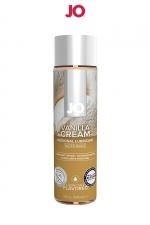 Lubrifiant aromatisé vanille 120 ml : Lubrifiant de la marque System Jo, fabriqué aux USA. Ce lubrifiant au format 120 ml est parfumé au goût de vanille.