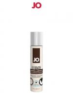 Lubrifiant hybride sans silicone effet frais 30 ml : A base d'eau et d'huile de noix de Coco, ce lubrifiant hybride effet frais est un Must Have de la marque System Joe.