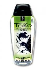 Lubrifiant Toko Aroma - melon et mangue : Lubrifiant intime à base d'eau, aromatisé melon et mangue, pouvant être léché, par Shunga, le spécialiste du plaisir intime.