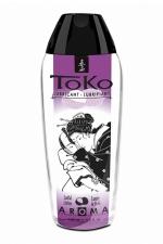 Lubrifiant Toko Aroma - luxure de litchi : Lubrifiant intime à base d'eau, aromatisé luxure de litchi, pouvant être léché, par Shunga, le spécialiste du plaisir intime.