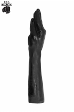 Gode All Black fucker (37 cm) : le gode avant bras special fist-fucking, réservé aux amateurs de dilatations extrêmes.