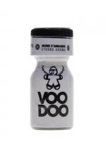 Poppers Voodoo 10ml : Aphrodisiaque d'ambiance hybride (amyl + propyl) procurant des sensations extra fortes (flacon de 10 ml).